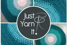 Just Yarn it! / Lovely handcrafted crocheted items made with passion by Just yarn it!™