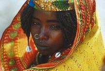 Klederdrachten Afrika