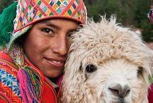 Klederdrachten Zuid Amerika