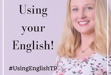 The #UsingEnglishTP Podcast / A collection of podcast episode for English learners designed to improve your confidence speaking in English through audio lessons.  Podcast episode focus on tips to master the English language, skills you can use to improve your level of English and tips to improve your overall confidence communicating in English.