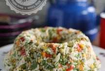 Salata ve mezeler