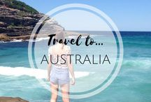 • Australia • / Inspiration and tips for planning a trip to Australia. Including popular travel destinations such as Sydney, Melbourne, Brisbane, Cairns, Darwin and Perth and Tasmania.