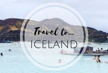 • Iceland • / For all those looking to venture to the land of fire and ice! Inspiration and tips on travelling around Iceland.