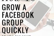 Facebook Marketing Hacks / Facebook marketing can really help grow a business, these pins will give you the knowledge to better your marketing efforts and make more sales.