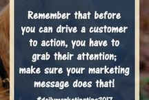 Daily Marketing Tips 2017 / Get your daily marketing tips for 2017 right here! #dailymarketingtips2017