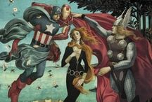 Geek Art / Because geeks are part of artists that create our popular culture