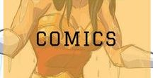 Comics / Comics. Not the funny kind. The superhero kind.  #comics #animation #superhero #batman #spiderman #guardiansofthegalaxy #superman