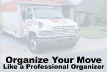 Organizing A Move / Tips and tricks on how you can organize for a move.