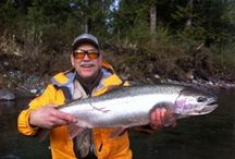 Steelhead Fishing on the Vedder River / Great shots of our clients and crew out on the Vedder River chasing the elusive Steelhead