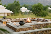 Outdoors - seating areas