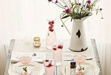 ENTERTAIN • tablescapes / lovely table settings