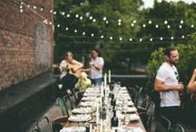 Inspired Gatherings + Events / Our inspiration for perfect place settings, tablescapes, & center pieces.