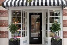 Sassy Store Fronts / Cute fancy store fronts for cupcakes, bakeries, design and entertaining.