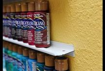 Organization - Garage and Outside / Ideas for organizing your garage and outdoor spaces