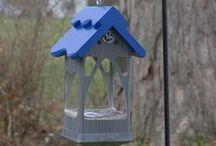 SGC: PVCedar Feeders / PVCedar feeders, made in the USA by Pat Sadler.