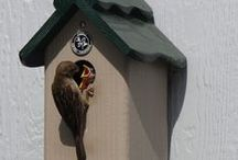 SGC: PVCedar Nesting Boxes / PVCedar nesting boxes, made in the USA by Pat Sadler.