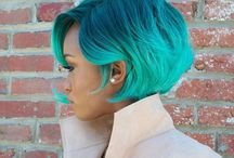 Hair Hue / We love these hair colors on women of color.