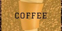 I Love Coffee / Coffee is a brewed drink prepared from roasted coffee beans, the seeds of berries from the Coffea plant. Once dried and roasted they're ground and prepared as the beverage coffee... AND I LOVE IT!!