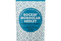 Rockin' Moroccan Medley / A tantalising blend of moroccan spices. Dip me! Season me! Sauce me! Sample me!