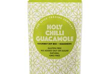 Holy Chilli Guacamole / The zesty fiesta flavours of Mexico. Dip me! Season me! Sauce me! Sample me!
