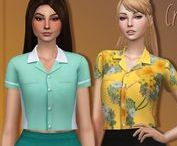 CLOTHES (female) ts4 finds / The Sims 4 clothes for females