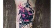 coloured tattoos