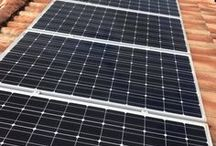 Solar Panels / Cleaning your solar panels can increase their efficiency. Solar panels over time will build up a film like layer of dust and dirt that reduces how effective your solar panels are. As we are fully safety trained and insured, we can not only be on your roof working safely, we also have specialised methods of cleaning your solar panels – without damaging them. Visit https://www.guttervac.com.au to learn more!