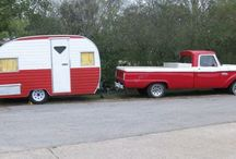 Truck and camper plans