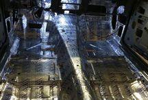 Innenraum Dämmung Camaro / Innenraum Dämmung mit Fatmat Rattle Trap - Insulation Camaro 1st Gen 67 68 69