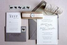 Wedding Invitation + Stationery / by Brittney Nichole Designs