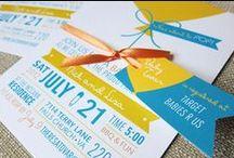 Stationery: Invitation / by Brittney Nichole Designs