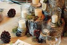 Table Decor / Gather, Feast, Laugh, Enjoy!