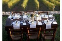 Table settings & Flowers
