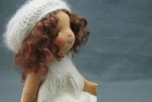 Waldorf Dolls ~ / handmade with Love / by Bees Knees