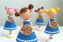 Clothespin~Spool~Peg Dolls / Crafting with wooden clothes pins, spools & pegs / by Bees Knees