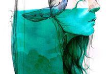 art / by Barbara Casas