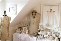 Dress Forms / So many beautiful ways to display and decorate with new or old dress forms / mannequins .