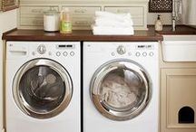 Laundry Room Inspiration / Laundry Room décor and functional things for the laundry room.