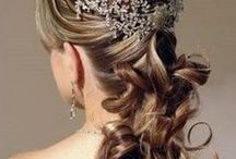 Wedding Hair Styles / Hair Styles for Brides, Bridesmaids and Flowergirls