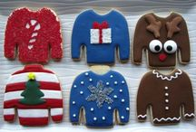 ChristmasUglySweaterParty / Ideas for silly holiday christmas sweater parties / by Bees Knees