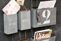 Getting organized / by Linda Lamos