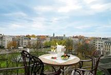 Roof-Top Hotel / Our hotels with rooftop terraces, pool &rooms in the city / by Eurostars Hotels