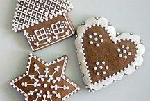 Christmas felt food ornaments / Kitchen~Christmas tree (Felt ornament inspiration) / by Bees Knees
