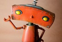 R is for ~RoBOT / robots are cool! / by Bees Knees