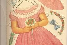 Paper Dolls - Print & Play / Paper doll printables and vintage