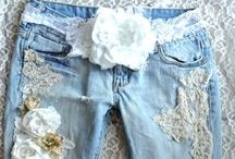 Denim - Recycle, Redo, Wear, Love / Blue jeans and denim everything. Up-cycle, re-purpose, fashion and just a love for everything denim.