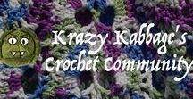 Krazy Kabbage Crochet Community - Free Patterns / Free crochet patterns from others board. If you want to contribute follow me then send a message :-)