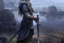 Fantasy Art | Ladies of War