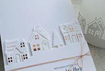 Stamping up Weihnachtskarten