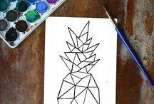Geometric art / Follow me= F4F✨ @danca_vlckova